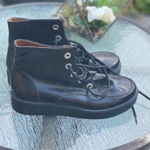 Zara maroon boots